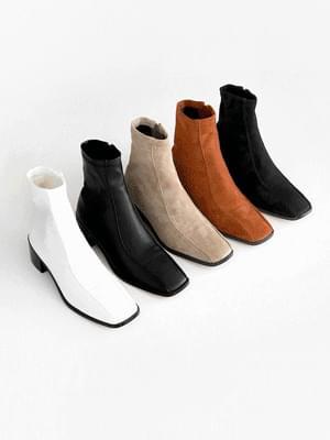 Piek socks ankle boots 4cm 靴子