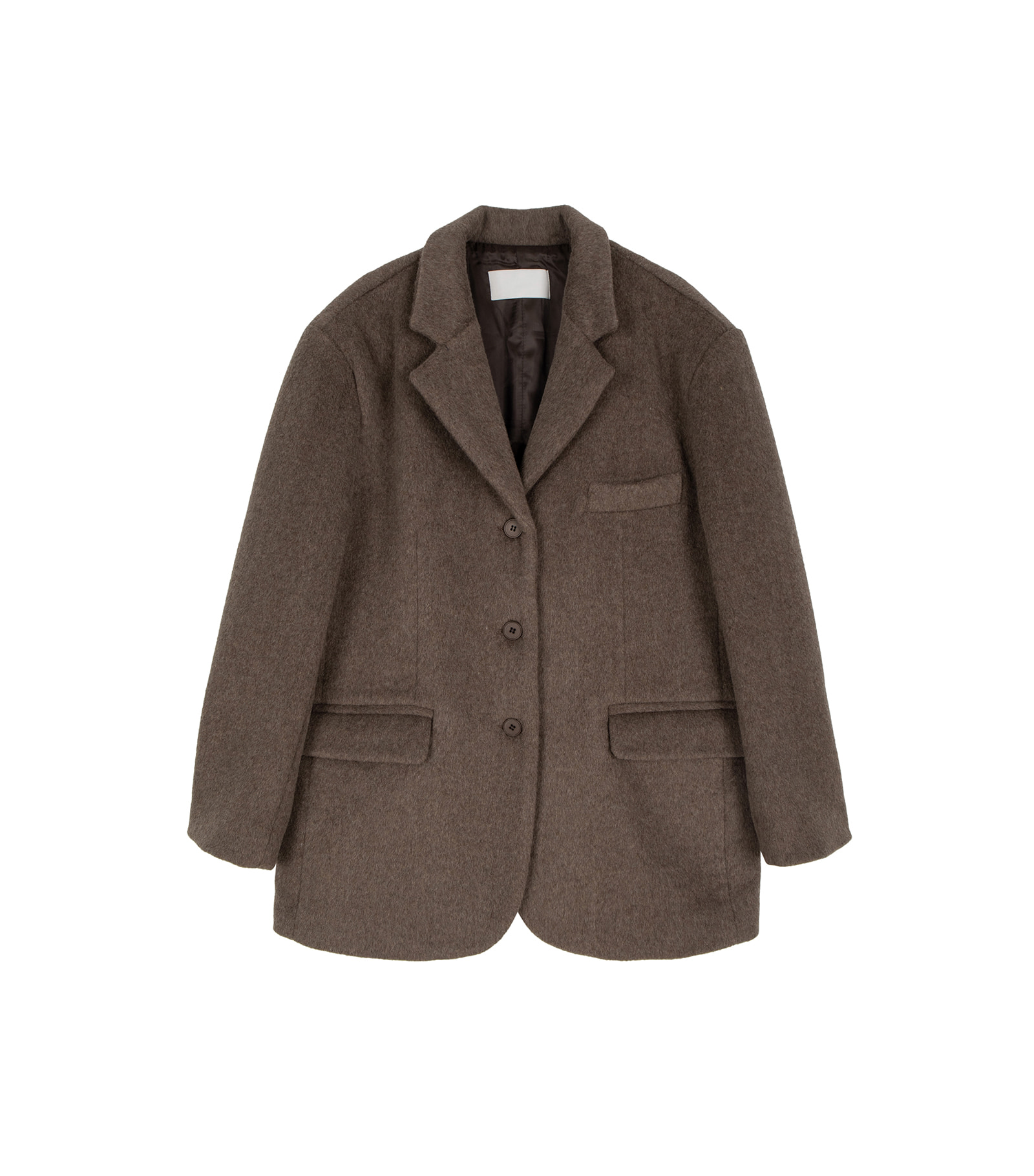 Bird wool single blazer