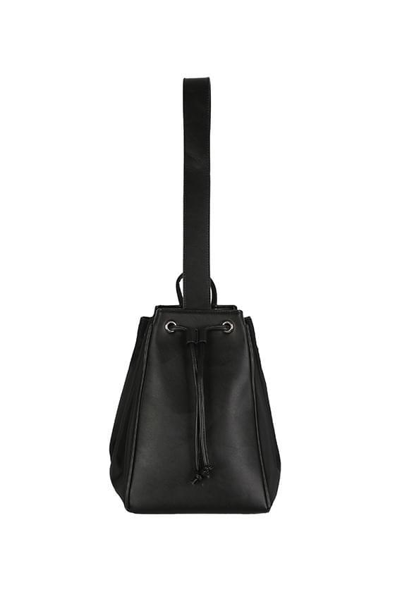 Venice folding leather backpack