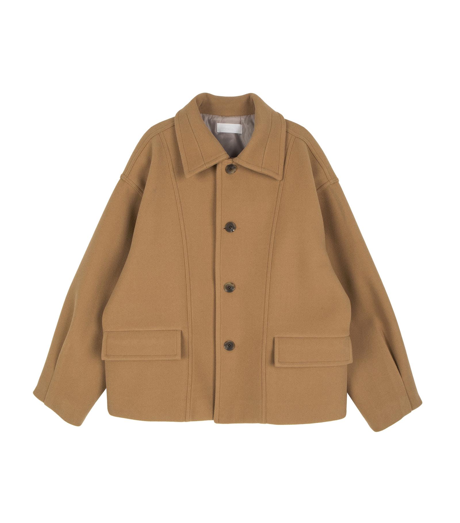 Margaret unisex half coat