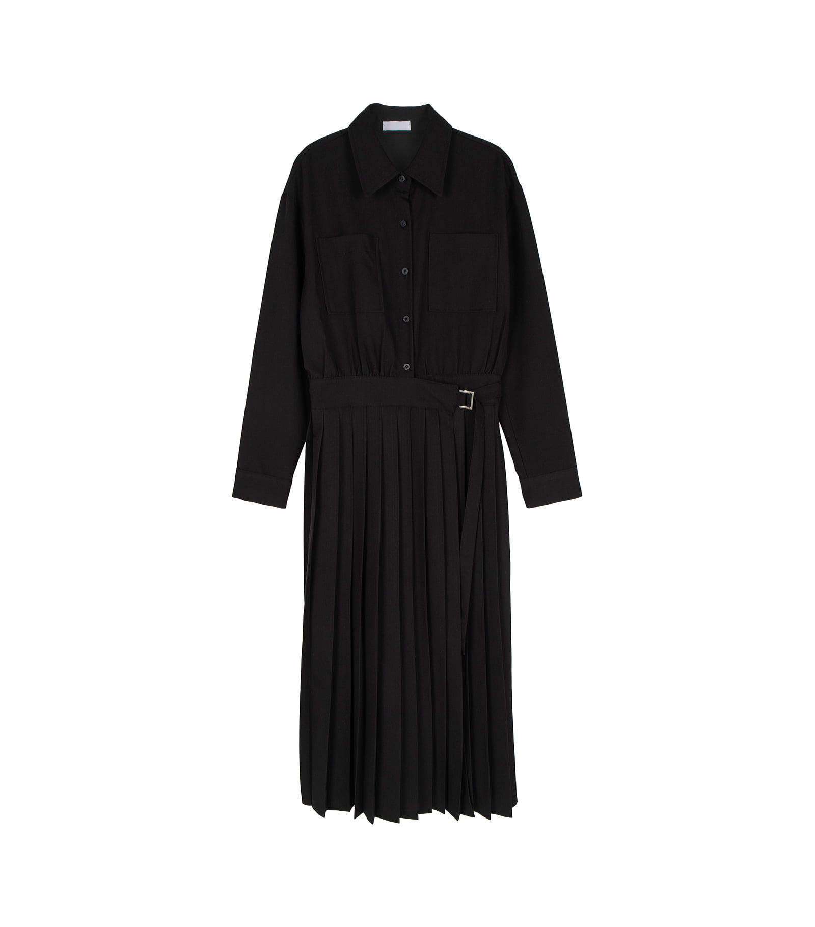 Western strap midi dress