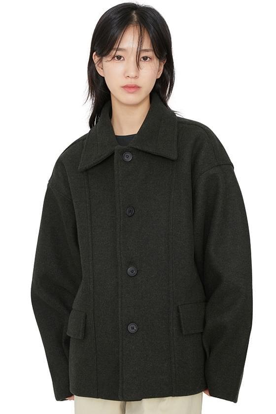 Margaret unisex half coat (人氣商品配送延遲) 大衣外套