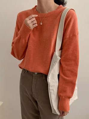 韓國空運 - Copen Round Wool Knit 針織衫