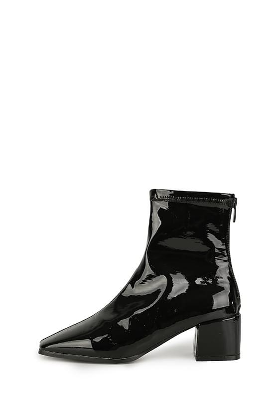 Routine middle-heel ankle boots 靴子