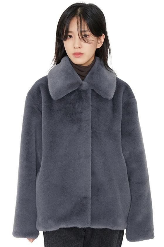 Fold mink fur jacket (Delayed delivery)
