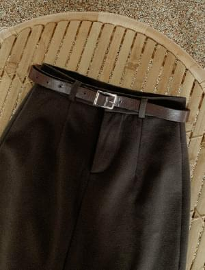Milano Belt Set Peach Raised Skirt