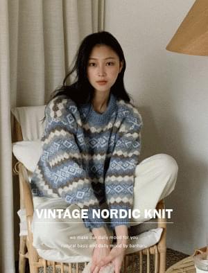 Sophie Nordic Pattern Knit