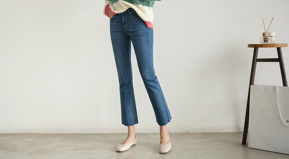 Mad Material Fit Modal Bootcut Jeans #75101