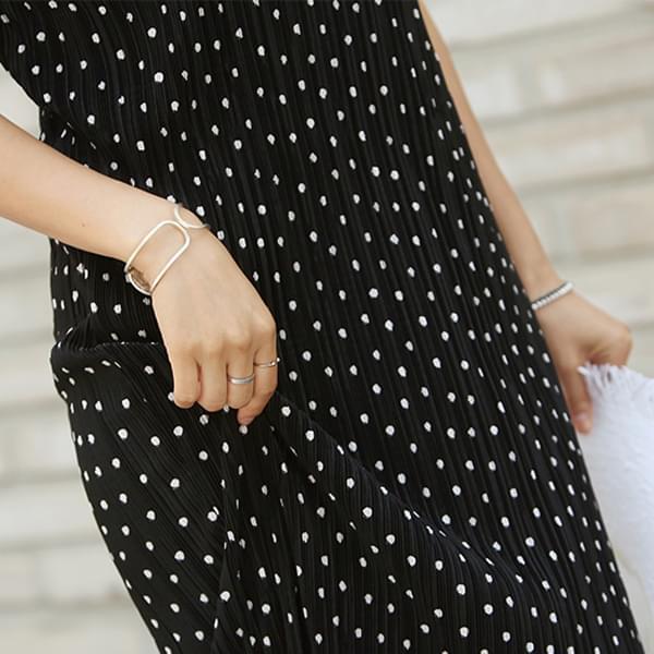 B-One Dot Long Dress #35367