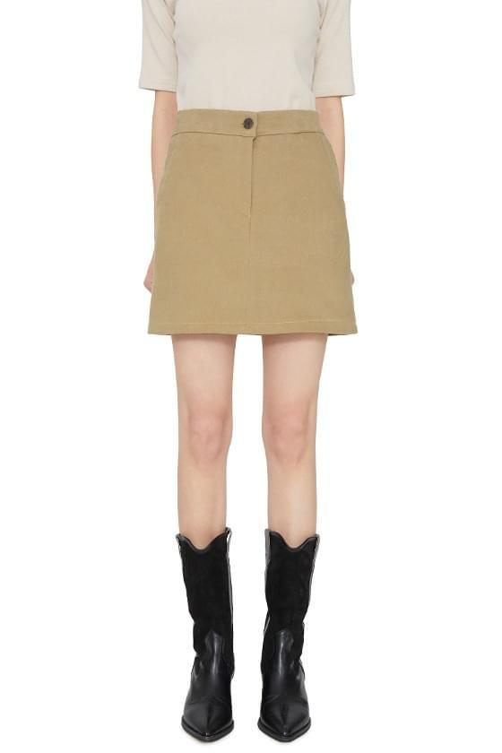 Cereal cotton mini skirt 裙子