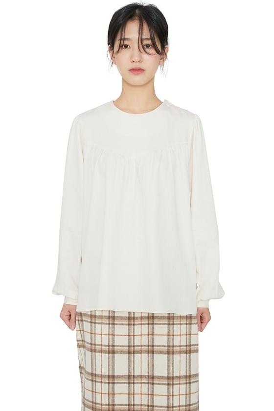 Cosette buttoned ruched blouse 襯衫