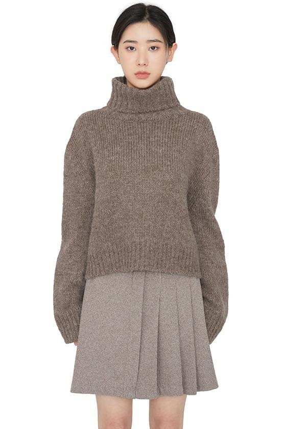 Fave alpaca turtleneck knit 針織衫