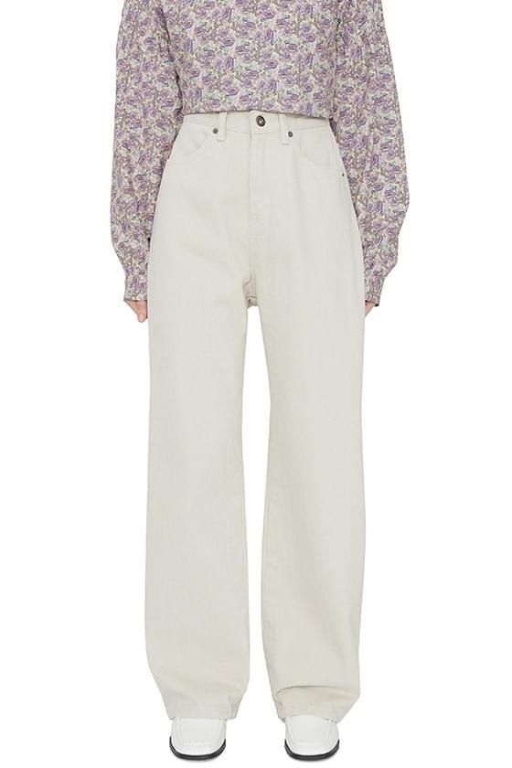 Butter brushed cotton trousers 長褲
