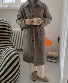 韓國空運 - Tiny Wool Long Coat 大衣