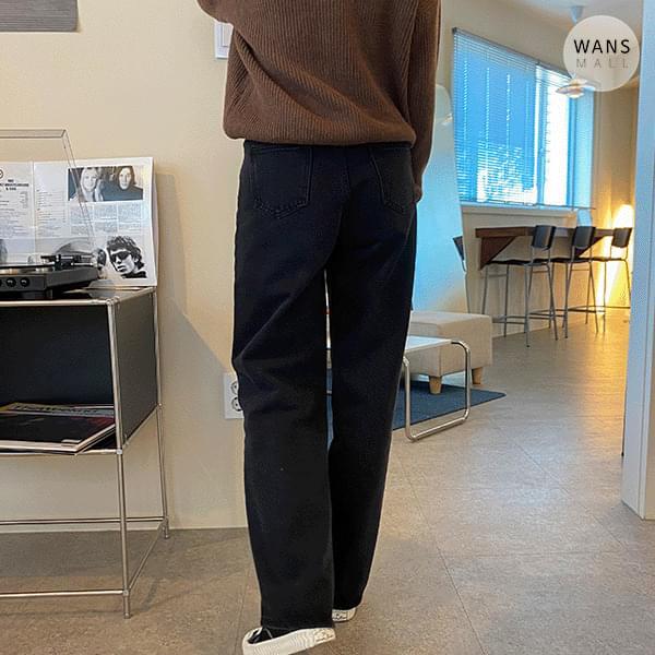 dp3217 Tees Wide Black Blue Pants