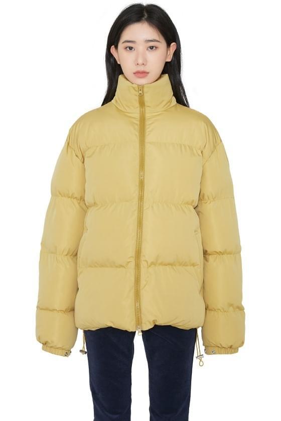 Vivid unisex padded jacket zip-up