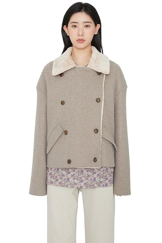 Whisper double casual jacket 夾克外套