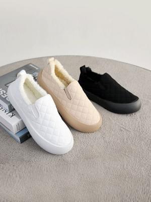 Remits Qualting Whole Heel Slip-On 3cm 球鞋/布鞋