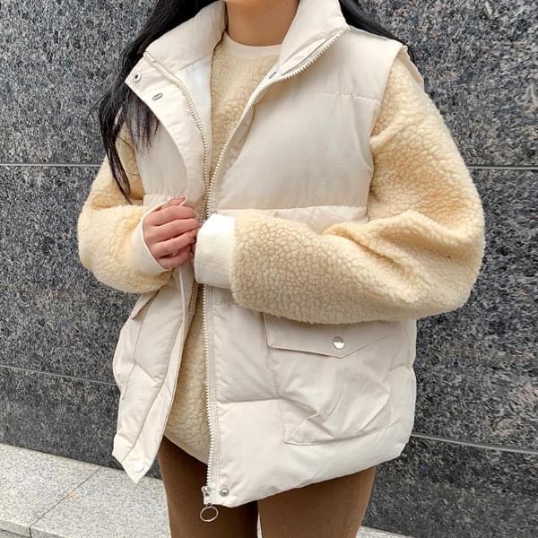 High pocket padded vest