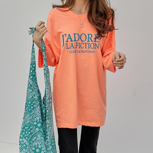 Latina Fluorescent Long T-shirt #108226