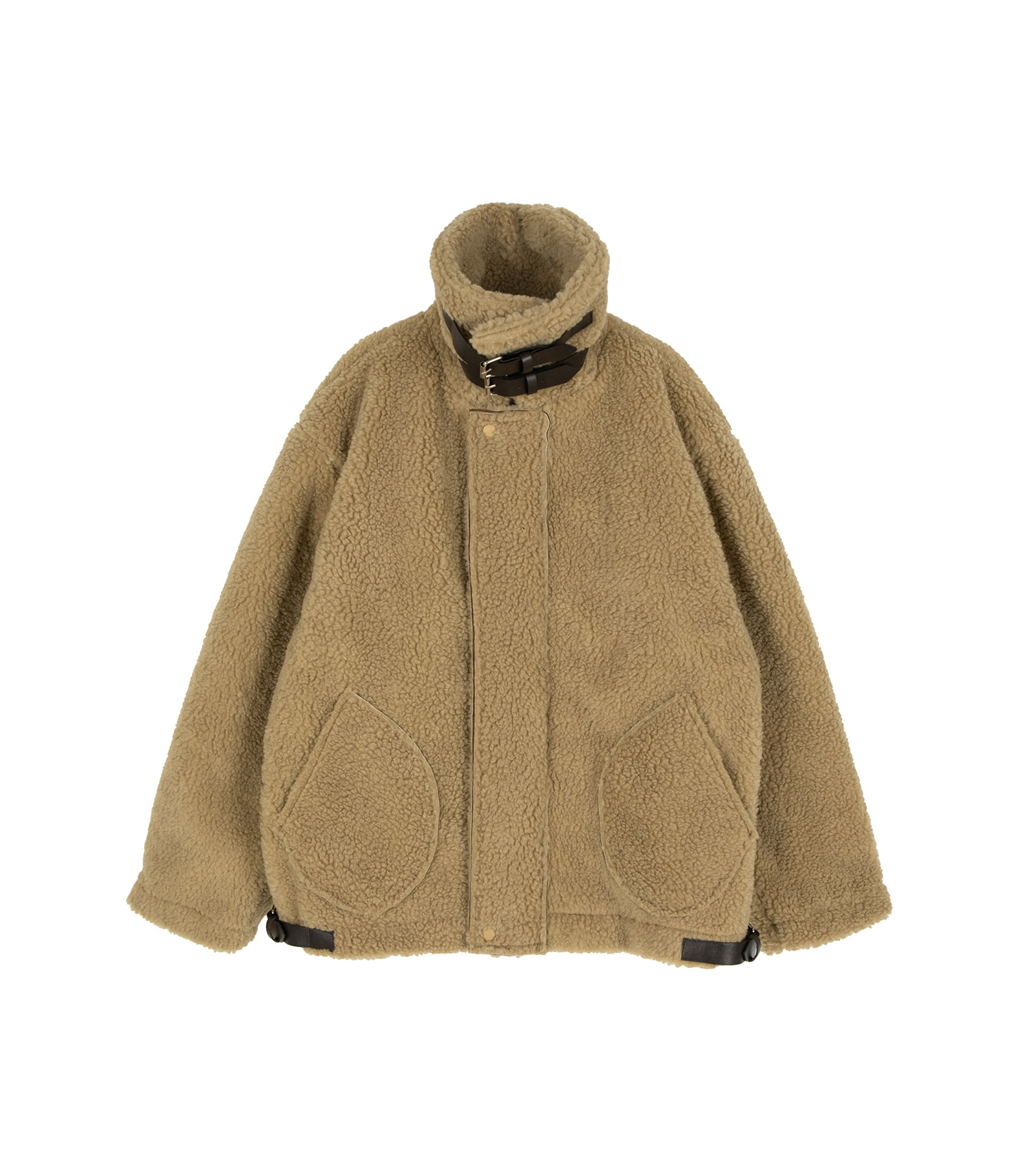 Your mousse shearling coat