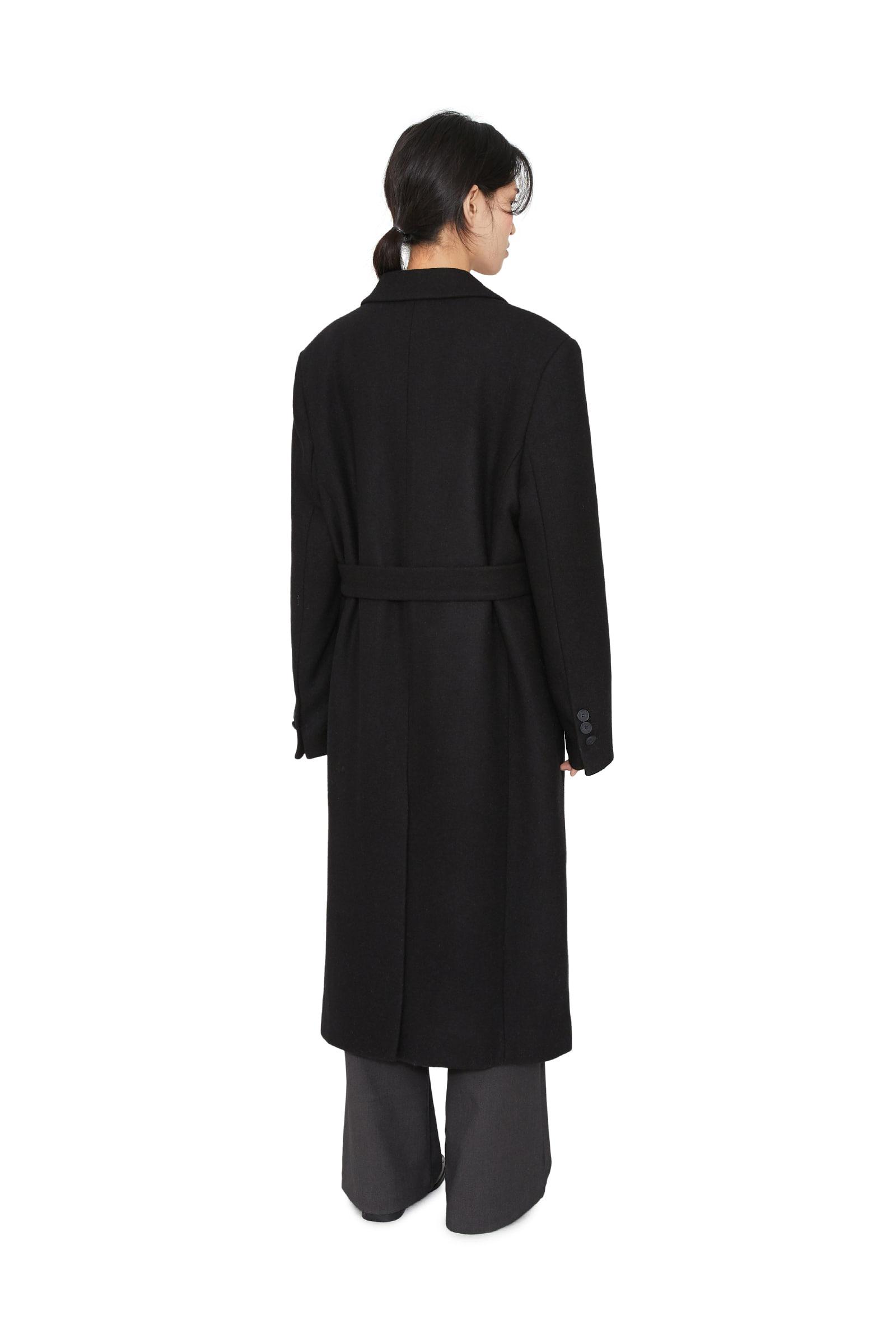 Daven Hidden Single Long Coat