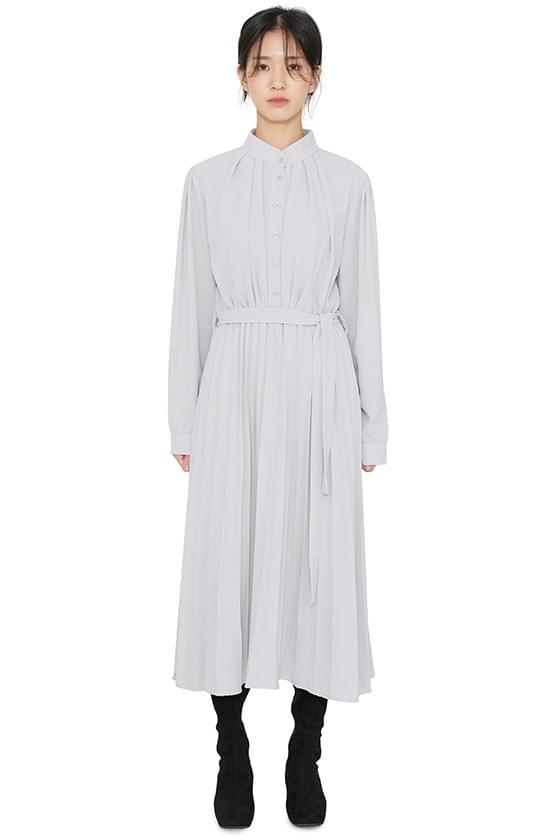 Helena pleated maxi dress 洋裝
