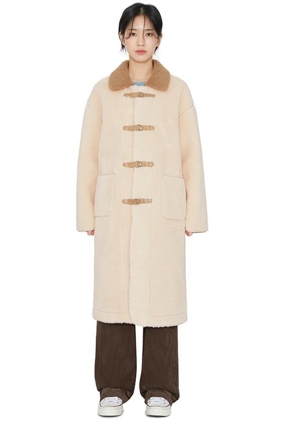Code Color Shearing Coat 大衣外套