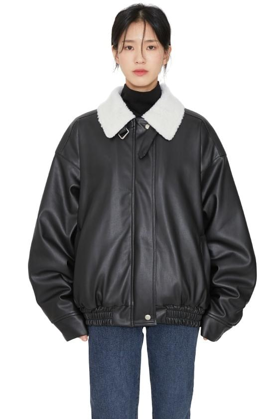 Dumble leather bomber jacket 夾克外套