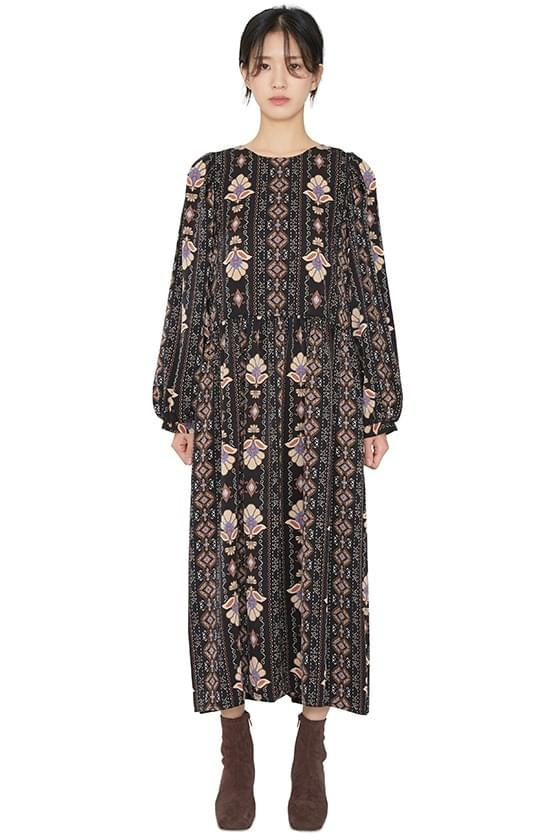Looney pattern midi dress