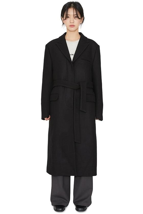 Daven Hidden Single Long Coat 大衣外套