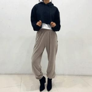 Mink jogger trousers