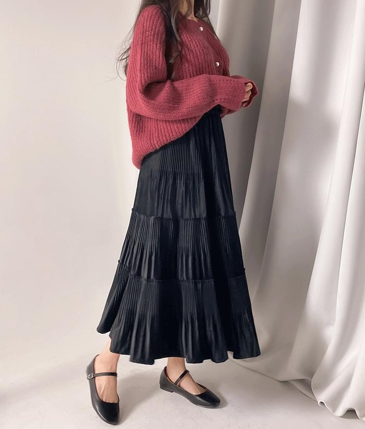 Mersh Velvet Cancan Skirt 裙子