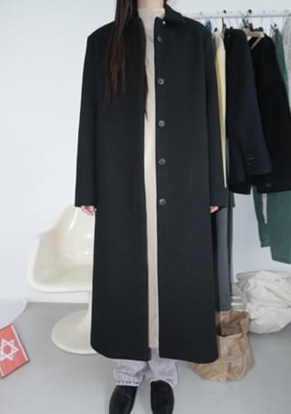 regular solid mac coat (2c)