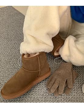 Classic mini short boots