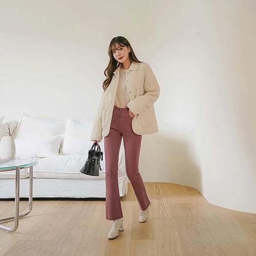 Bonnie bootcut cotton pants