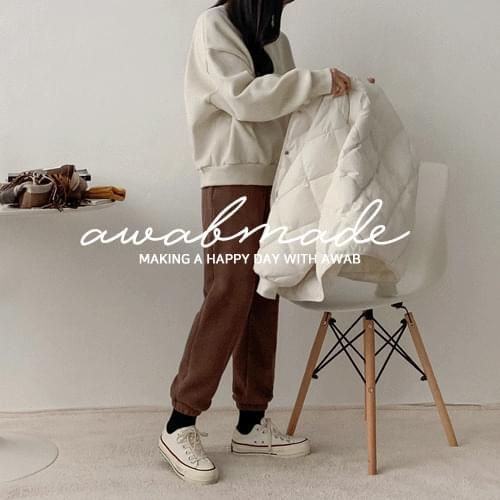 #AWABMADE:_Golgi Knit Jogger Pants
