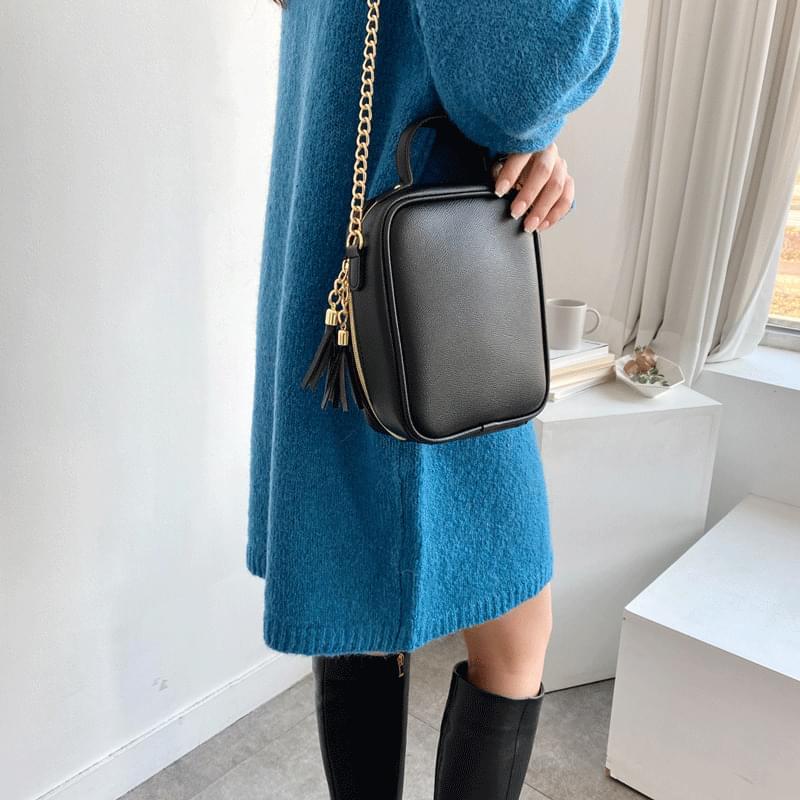Carry mini square chain shoulder bag