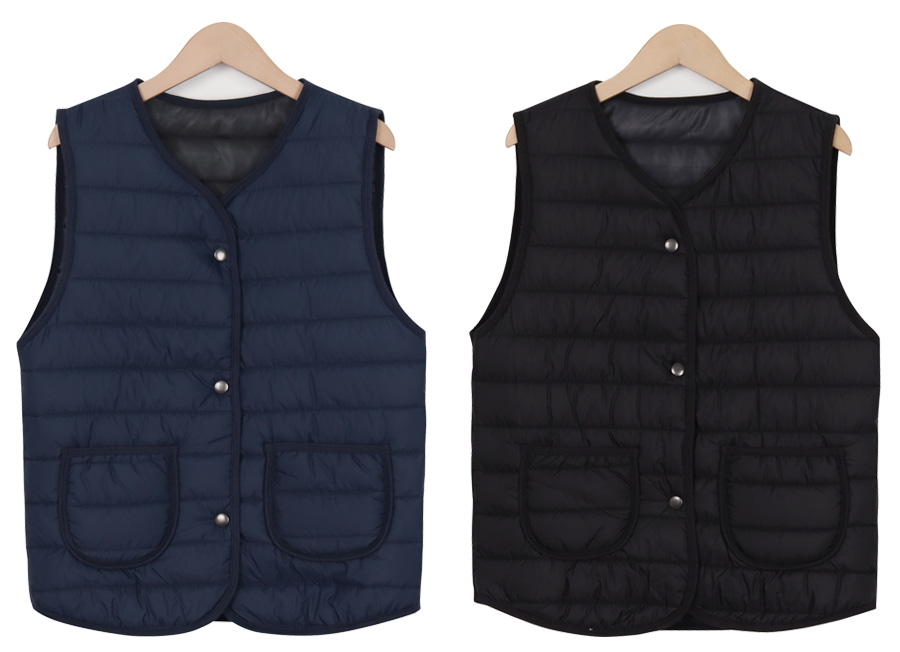Daily Quilted Padded Vest