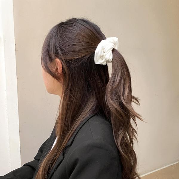 Winter Golden Giblet String Hair Band Set of 10