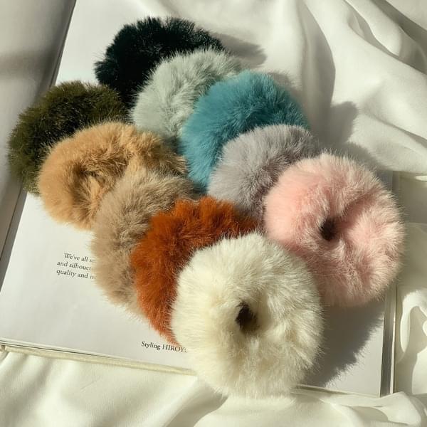 Winter mink giblets hair band set of 10