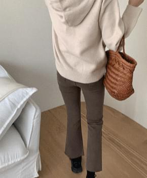 Medipo Fleece-lined Faded pants