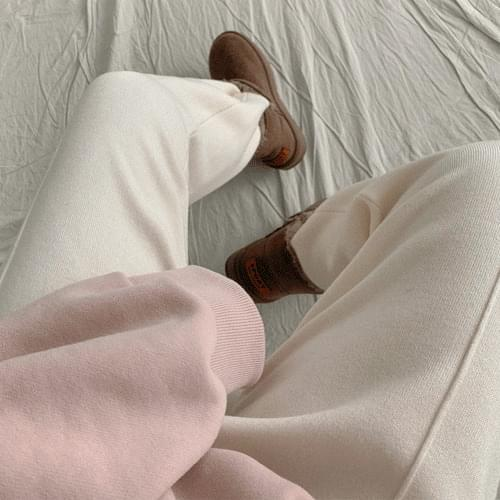 Radiin Biscos Pin Tuck Knit Pants