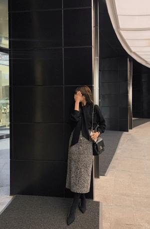 Selina tweed skirt