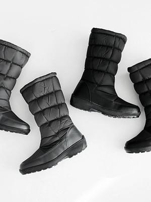 Pieltz padded middle boots 3cm 靴子
