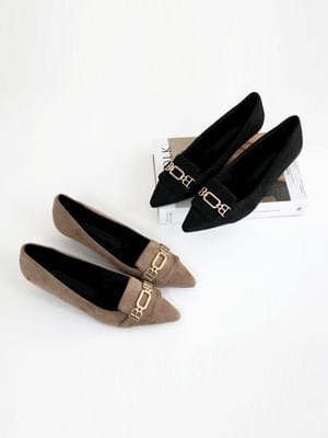 Leille middle heel pumps 4cm 跟鞋