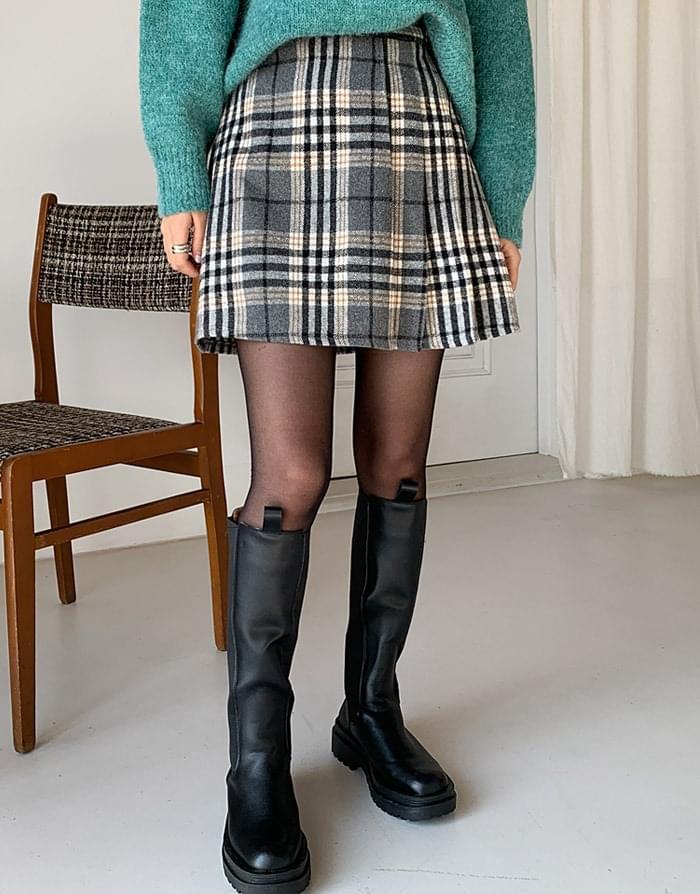 Vivien foot pleated skirt