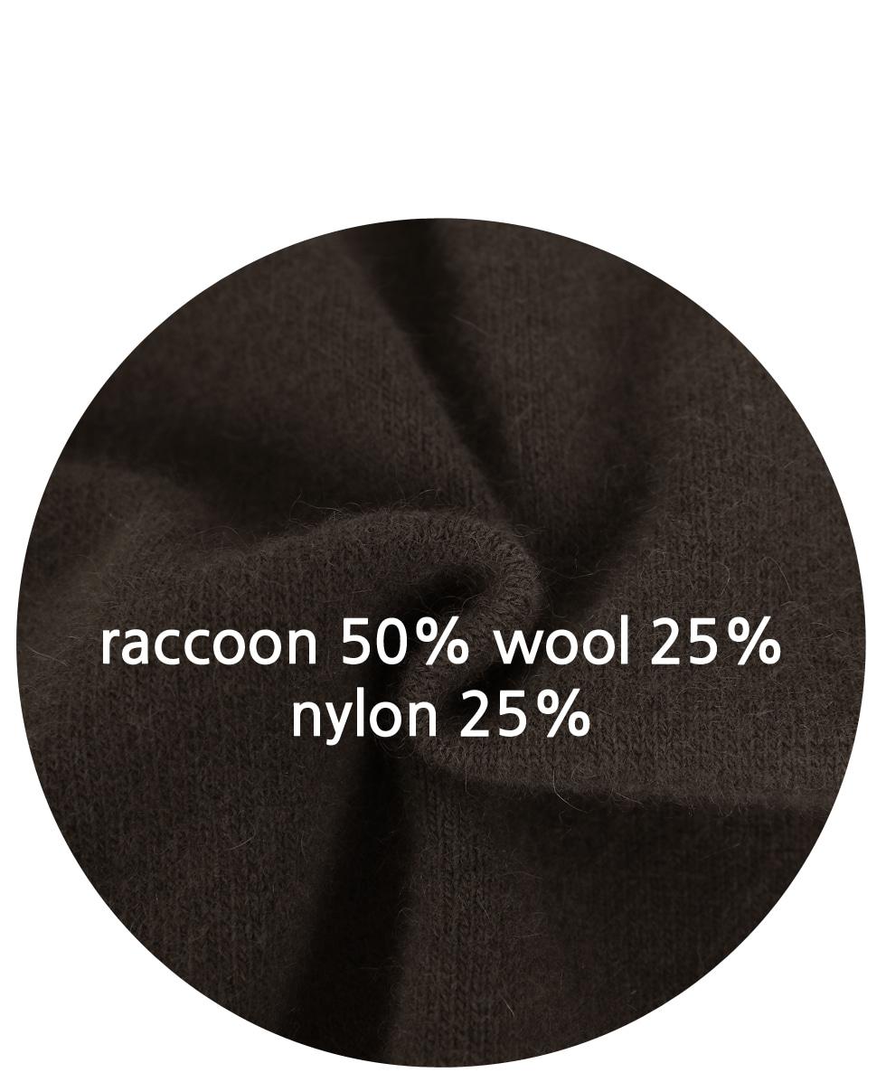 Raccoon Wolve Knit Vest