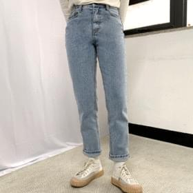 Muds brushed dated denim pants