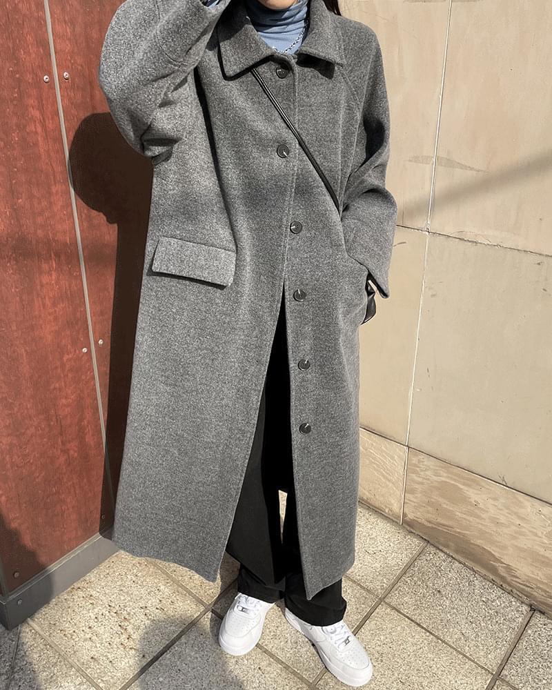 You's Wool Single Long Coat